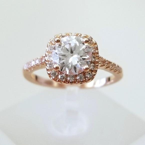 18k Over Sterling Ring
